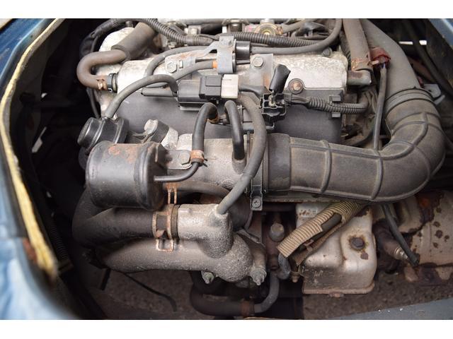 インタークーラー付K6Aエンジン