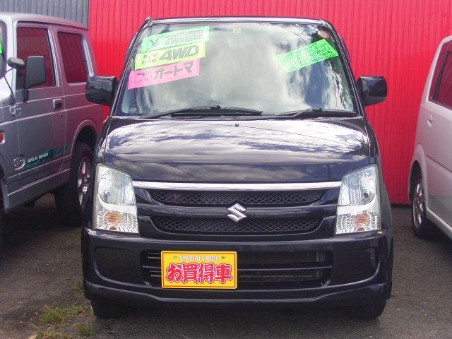 スズキ ワゴンR FX-Sリミテッド 4WD 純正オーディオ シートヒーター