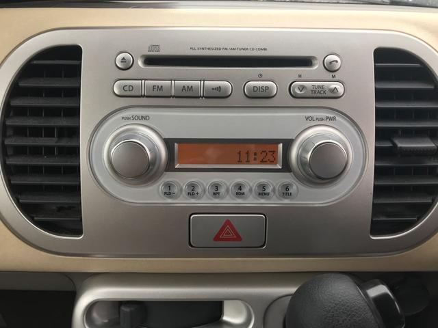 日産 モコ S FOUR 4WD 純正オーディオ キーレス 車検整備付