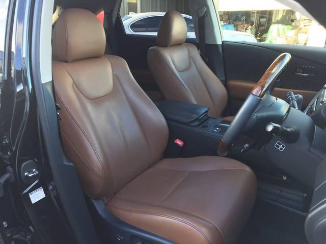 レクサス RX RX450h バージョンL 4WD エアサス 茶革 SR