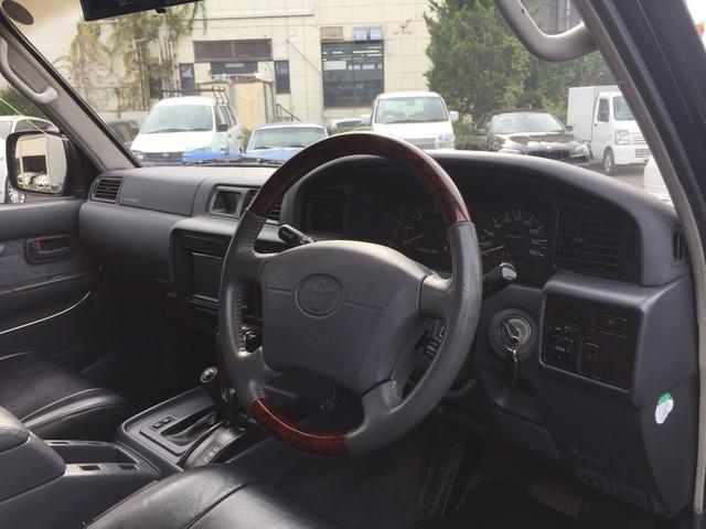 トヨタ ランドクルーザー80 VXリミテッド最終型 1ナンバー リフトアップ SDナビTV
