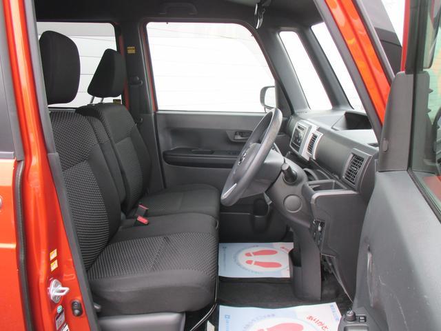 前席はベンチシートとなっておりますので室内空間としてもゆったりお使いいただけます♪