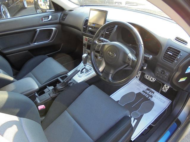 スバル レガシィツーリングワゴン 2.0GTスペックB 4WDターボ HDDナビ 関東仕入