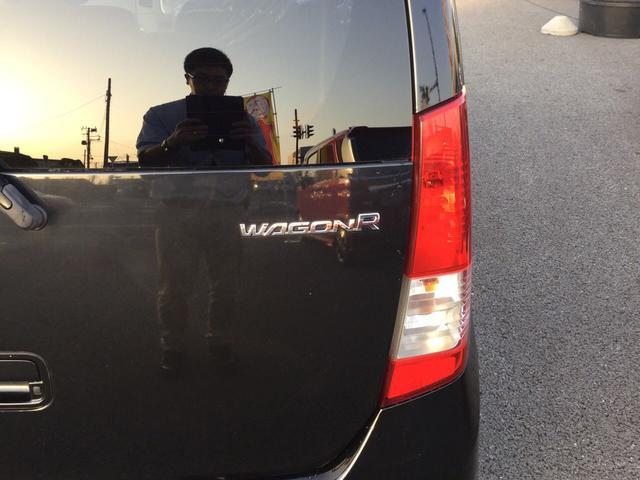 スズキ ワゴンR FXリミテッド 4WD エアロ プッシュスタート