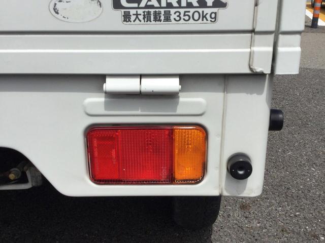 スズキ キャリイトラック KCエアコン・パワステ 4WD 5MT 純正ラジオ