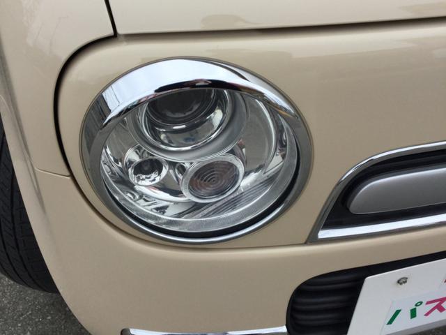 スズキ アルトラパンショコラ X 4WD キーレス プッシュスタート 純正アルミ