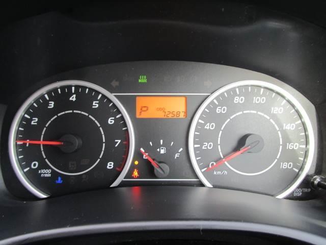 シンプルですが見やすいスピードメーターです。