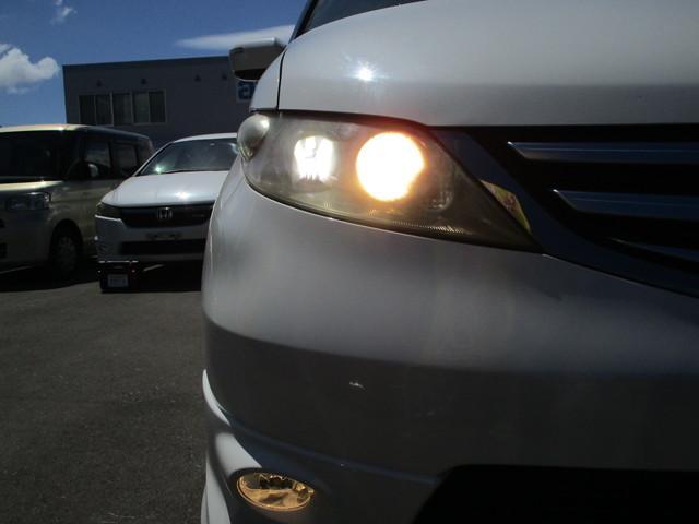 GエアロHDDナビスペシャルパッケージ 4WD 寒冷地仕様 両側電動スライド Bカメ Wパワスラ ETC HID(50枚目)