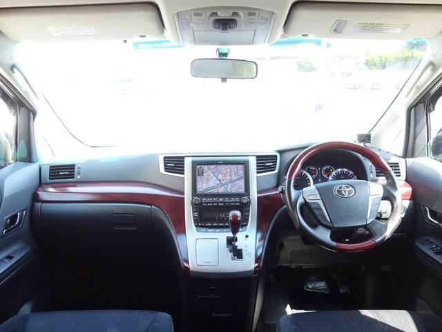 2.4 Z 7人 4WD 両側電動スライドドア HDDナビ フルセグTV Bluetooth フリップダウンモニター ETC HID タイミングチェーン(5枚目)