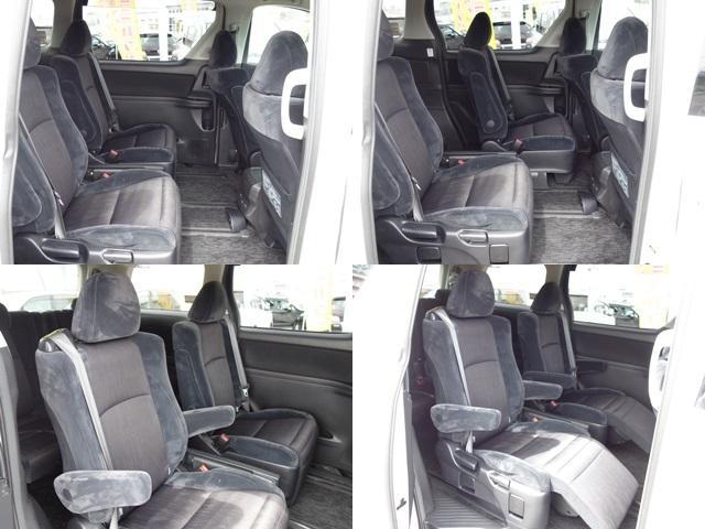 2.4 Z 7人 4WD 両側電動スライドドア HDDナビ フルセグTV Bluetooth フリップダウンモニター ETC HID タイミングチェーン(12枚目)