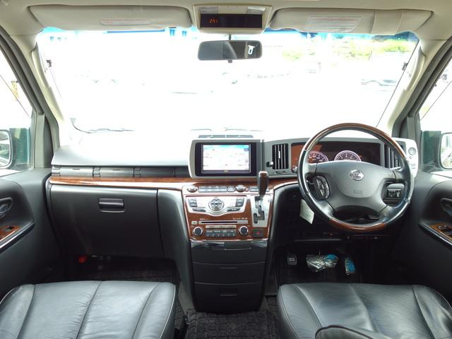 250ハイウェイスター ブラックレザーED 4WD 左電動スライドドア HDDナビ フルセグTV バックカメラ サイドカメラ 運転席パワーシート 運転席・助手席シートヒーター インテリキーの イモビライザーHID フォグランプ ETC(5枚目)