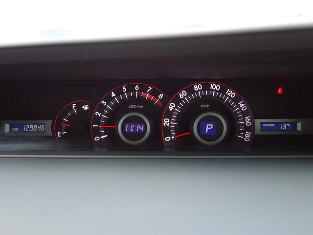 自発光式ですので昼でも夜でも非常に見やすいスピードメーターです。