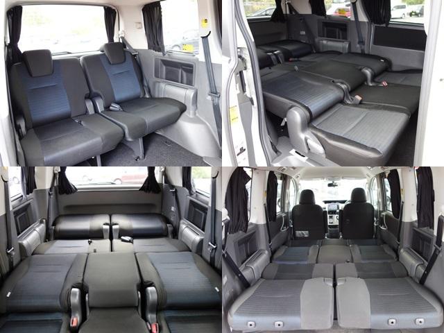 サードシートは必要十分なスペースを確保しています!フラットモードにもなるので車中泊される方にもピッタリです♪