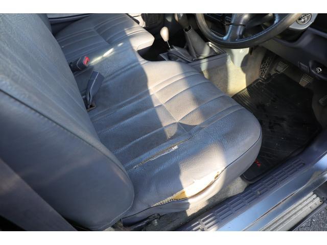 DX 4WD マニュアル5速 荷台板張り 禁煙車 腐食なし(11枚目)