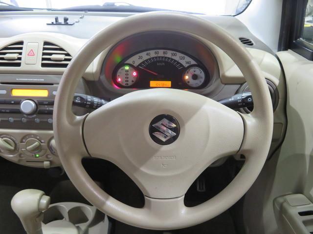 F 4WD キーレス 盗難防止システム ABS パワステ(7枚目)
