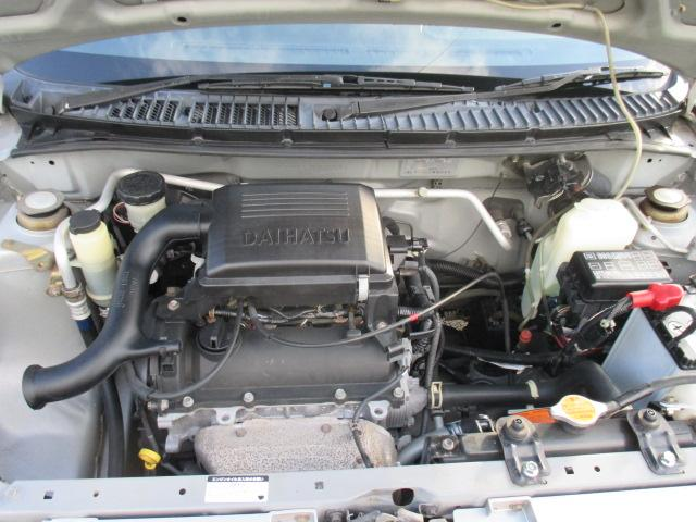 燃費が取り柄のエンジンです。( ;∀;)