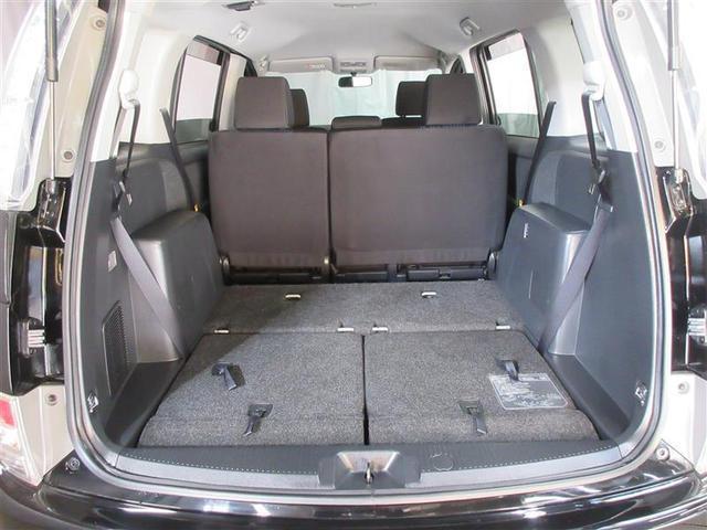 シートをたためば広々空間です 何を載せてお出かけしますか