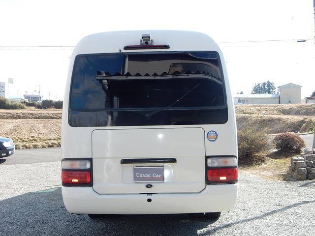 トヨタ コースター ロングスーパーラウンジ 20人乗 タイベル交換済 Bカメラ