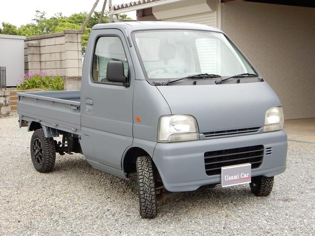 4WD ターボ マニュアル パワステ 色替マッドグレー(4枚目)