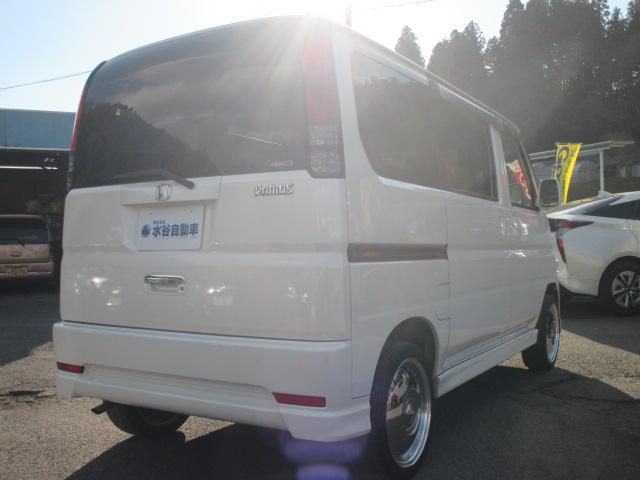 ホンダ バモス L  4WD ワンセグナビ 両側スライドドア