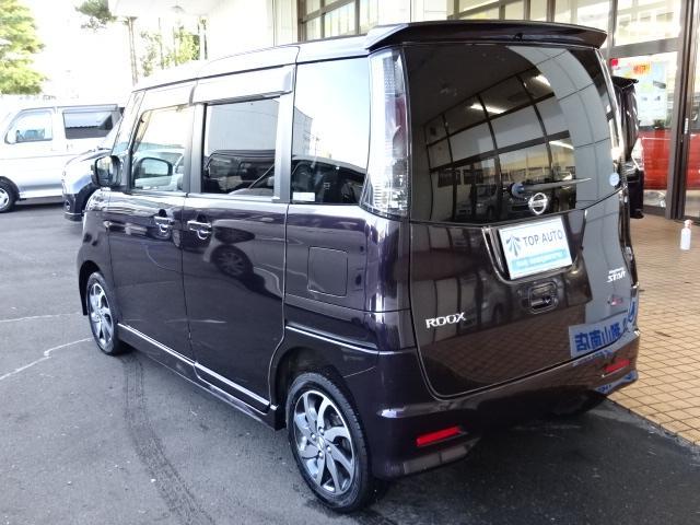 日産 ルークス ハイウェイスター 4WD パワスラ HID フォグ 保証付
