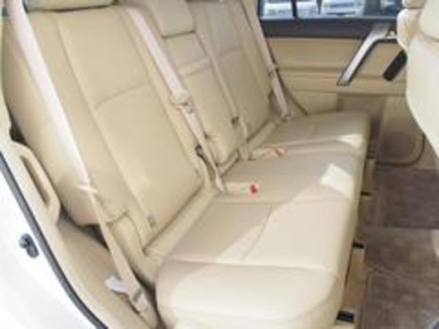 トヨタ ランドクルーザープラド TX Lパッケージ 本革 シートヒーター 電動シート