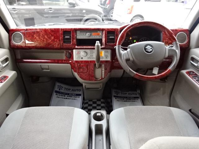 スズキ エブリイワゴン PZターボ 4WD ワンオーナー パワスラ 純正AW 保証付