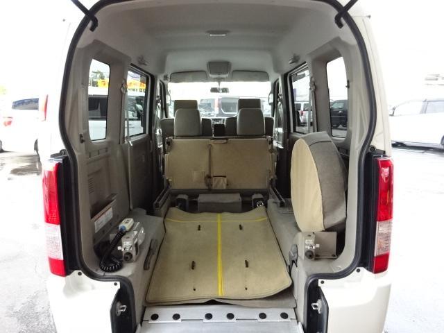 スズキ エブリイワゴン 車イス移動車 4WD 純正CD ABS キーレス 保証付