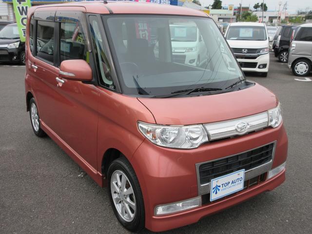 カスタムX 4WD CD HIDライト 無修復歴車 保証付(10枚目)