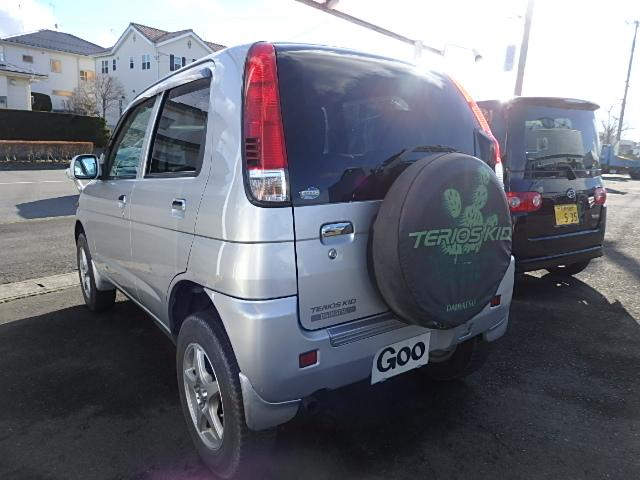 ダイハツ テリオスキッド L 4WD 5速マニュアル CD キーレス