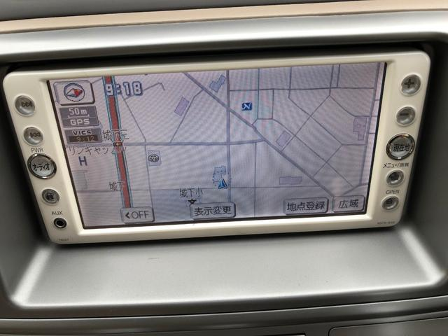 トヨタ ラウム 4WD Gパッケージ  純正 ナビ バック カメラ