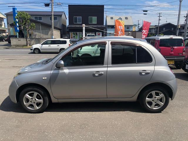 「日産」「マーチ」「コンパクトカー」「青森県」の中古車5