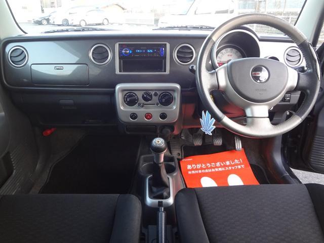 スズキ アルトラパン SS 4WD ターボ 5MT 社外マフラー CDチューナー