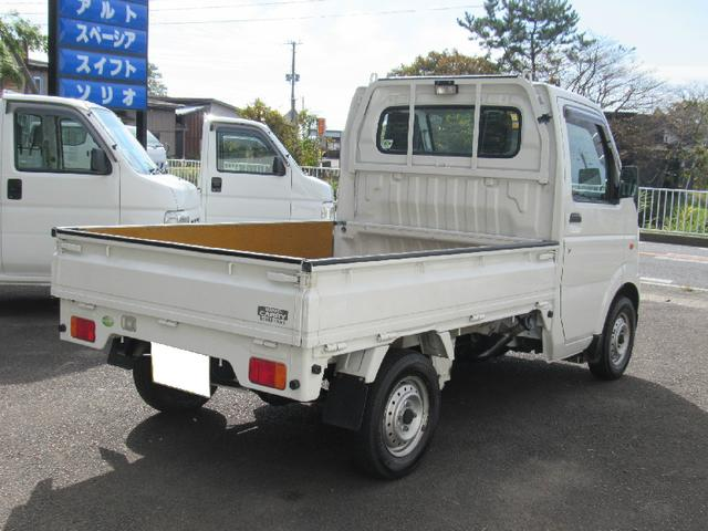 スズキ キャリイトラック 4WD 5速マニュアル トランスファー付 エアコン 3方開