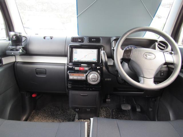 ダイハツ ムーヴコンテ カスタム RS ターボ 社外SDナビ ワンセグTV HID