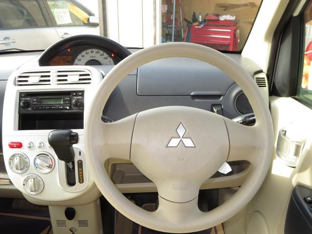 三菱 eKワゴン G 4WD CD キーレス ベンチシート フルフラット