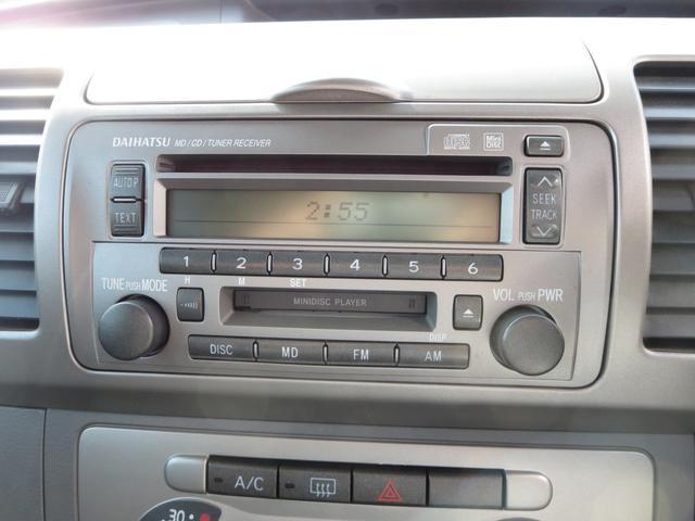 ダイハツ タント カスタムX 4WD CD MD ベンチシート ワンオーナー