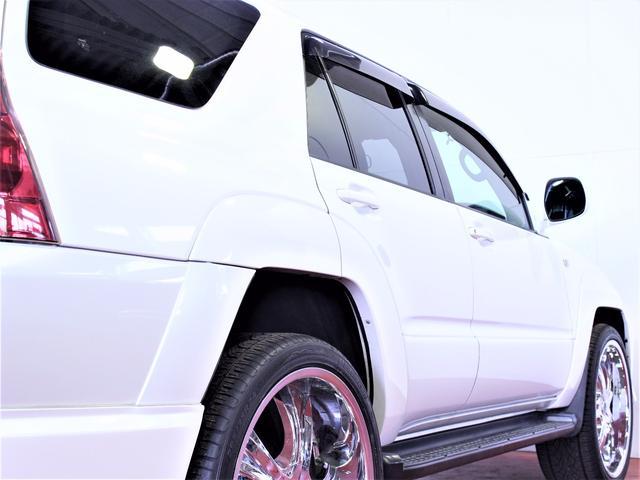 トヨタ ハイラックスサーフ タイベル交換済みSSR-Gエアロ24インチホイール新品ライト