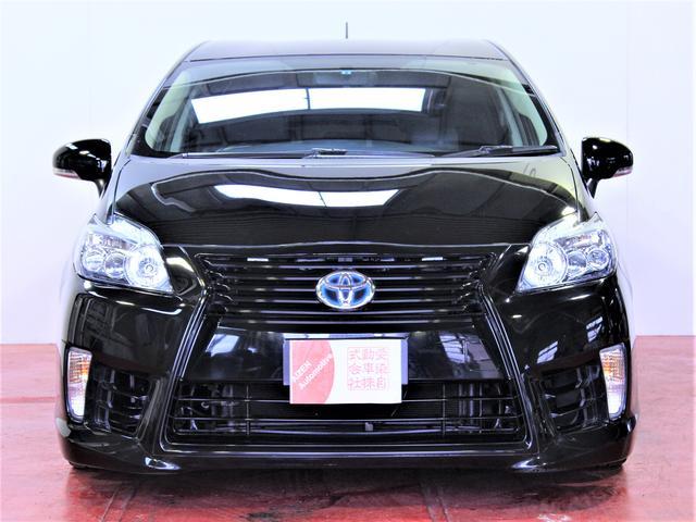 トヨタ プリウス 特別仕様車G LEDエディション黒本革エアロ社外AW車高調