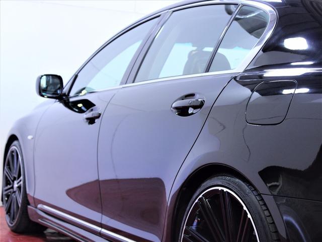 レクサス GS 禁煙車黒本革エアーシート新エアロ新ヘッドライト新20AW