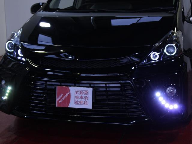 新品20AW ヘッドライト加工 車高調 黒革調シートカバー(5枚目)