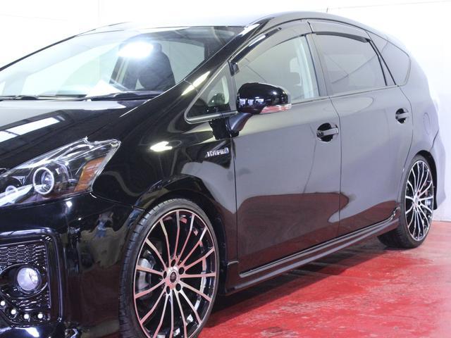 新品20AW ヘッドライト加工 車高調 黒革調シートカバー(9枚目)