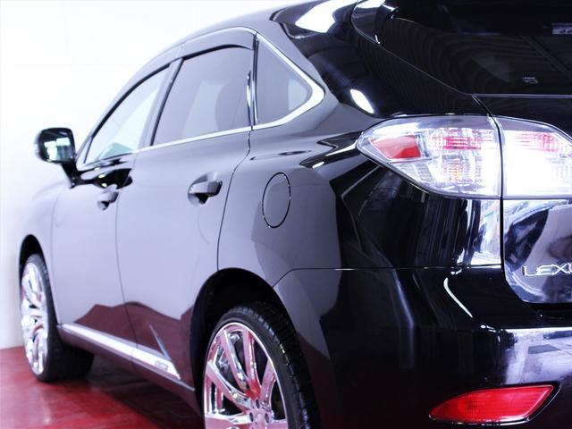 レクサス RX 450h4WD 20型仕様 新品22インチAW 新品タイヤ