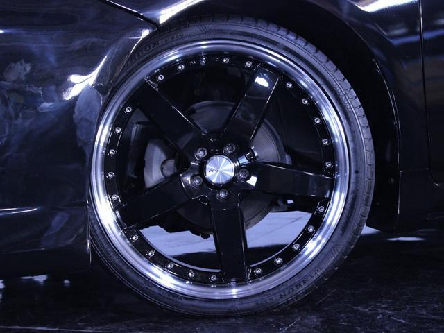 S 新品フルエアロ 新品19インチAW イカリングライト加工(9枚目)