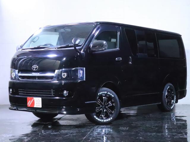 ロングスーパーGL ディーゼル 4WD ワンオーナー/新品ホイール/新品ホワイトレタータイヤ/ヘッドライト加工/社外エアロ(2枚目)
