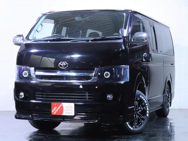 ロングスーパーGL ディーゼル 4WD ワンオーナー/新品ホイール/新品ホワイトレタータイヤ/ヘッドライト加工/社外エアロ(3枚目)