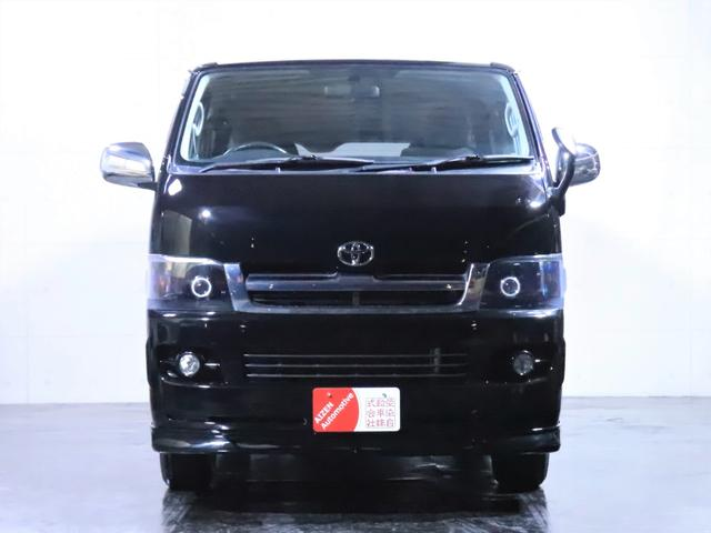 ロングスーパーGL ディーゼル 4WD ワンオーナー/新品ホイール/新品ホワイトレタータイヤ/ヘッドライト加工/社外エアロ(5枚目)