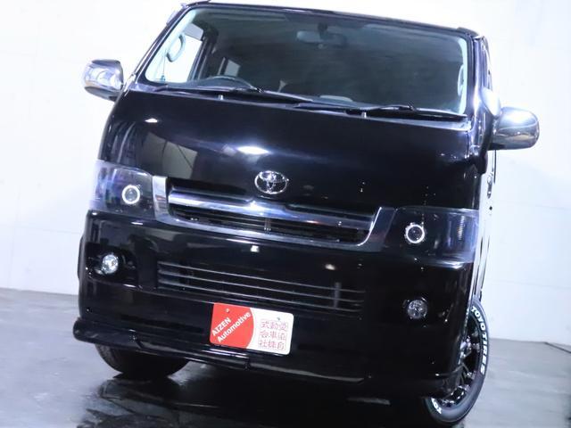 ロングスーパーGL ディーゼル 4WD ワンオーナー/新品ホイール/新品ホワイトレタータイヤ/ヘッドライト加工/社外エアロ(8枚目)
