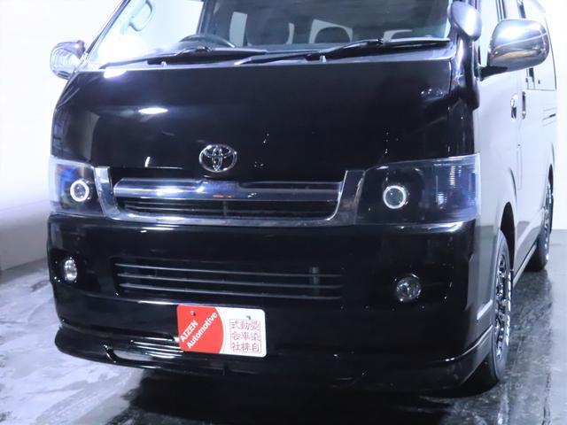 ロングスーパーGL ディーゼル 4WD ワンオーナー/新品ホイール/新品ホワイトレタータイヤ/ヘッドライト加工/社外エアロ(9枚目)