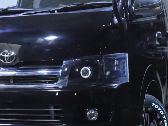 ロングスーパーGL ディーゼル 4WD ワンオーナー/新品ホイール/新品ホワイトレタータイヤ/ヘッドライト加工/社外エアロ(10枚目)
